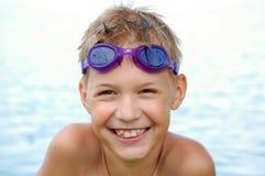 Grande sorriso Fotografie Stock