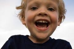 Grande sorriso grande Fotografia de Stock Royalty Free