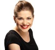 Grande sorriso a trentadue denti. Fotografia Stock Libera da Diritti