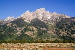 Grande sosta di Teton fotografia stock libera da diritti