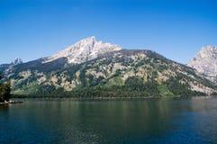 Grande sosta di Teton Fotografia Stock