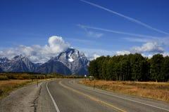 Grande sosta nazionale di Teton Fotografia Stock