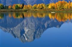 Grande sosta nazionale di Teton Fotografie Stock