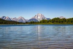 Grande sosta nazionale di Teton, Wyoming, S Immagini Stock Libere da Diritti