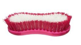 Grande spazzola di pulizia rosa Fotografia Stock Libera da Diritti