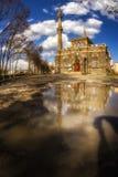 Grande specchio della cattedrale (moschea di Fethiye) fotografia stock libera da diritti