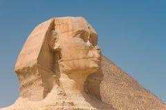 Grande sphinx de Giza, Imagens de Stock Royalty Free