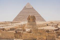 Grande Sphinx di Giza Immagini Stock