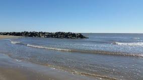 Grande spiaggia dell'isola Fotografia Stock Libera da Diritti