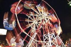 Grande spinga dentro un parco di divertimenti a Kandy, Sri Lanka Immagini Stock Libere da Diritti
