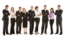 Grande squadra di affari Immagini Stock