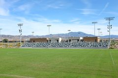 Grande stadio di calcio del parco della contea di Orange Fotografie Stock
