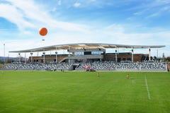 Grande stadio di calcio del parco della contea di Orange Immagine Stock Libera da Diritti