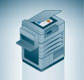 Grande stampante a laser dell'ufficio Fotografie Stock