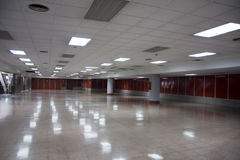 Grande stanza vuota Fotografia Stock