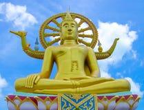 Grande statua del buddha sul samui del KOH, Tailandia Immagine Stock