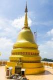Grande statua del mortaio (stupa) nel panteon fotografia stock libera da diritti