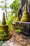 Grande statua del mortaio (stupa) nel panteon immagine stock libera da diritti