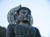 Grande statua di Buddha al parco nazionale di Seoraksan Fotografia Stock Libera da Diritti