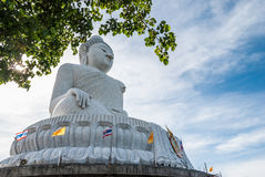 Grande statua di Buddha a Phuket Fotografia Stock Libera da Diritti
