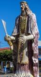 Grande statua di São Bartolomeu Immagine Stock Libera da Diritti