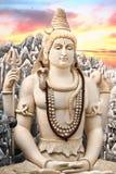 Grande statua di Shiva a Bangalore Fotografia Stock Libera da Diritti