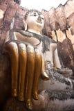 Grande statua Sukhothai, Tailandia del buddha Fotografia Stock
