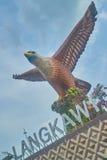 Grande statue d'aigle Photos stock