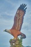 Grande statue d'aigle Photographie stock libre de droits