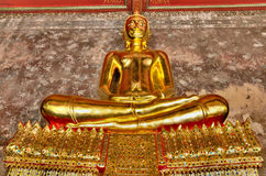 Grande statue de Bouddha à Bangkok Thaïlande Photographie stock