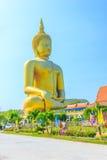 Grande statue de Bouddha Images libres de droits