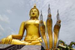 Grande statue de Bouddha image stock