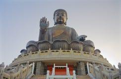 Grande statue de Bouddha Photo libre de droits