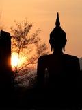 Grande statue de Bouddha Photos libres de droits