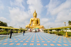Grande statue de Bouddha Photo stock