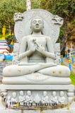 Grande statue de Bouddha dans le Panthéon Images libres de droits