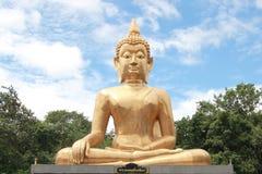 Grande statue de Bouddha en Thaïlande Photographie stock libre de droits
