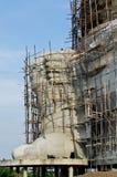 Grande statue de ganesha en construction Photographie stock