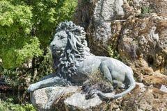 Grande statue de lion à Venise, Italie Photo stock