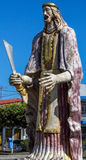 Grande statue de São Bartolomeu Image libre de droits