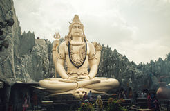 Grande statue de shiva Photos stock