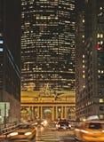 Grande stazione centrale New York di natale immagine stock