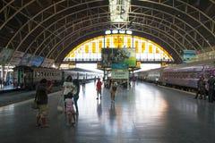 Grande stazione ferroviaria del terminale centrale di Bangkok (dell'interno) Fotografia Stock