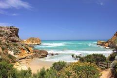 Grande strada Australia dell'oceano Fotografia Stock Libera da Diritti