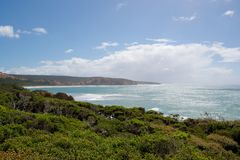Grande strada Australia dell'oceano Immagini Stock Libere da Diritti