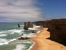 Grande strada Australia dell'oceano Immagine Stock