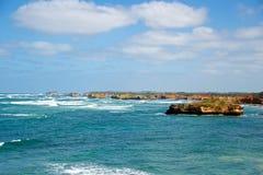 Grande strada dell'oceano Fotografia Stock Libera da Diritti