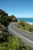 Grande strada dell'oceano Fotografia Stock