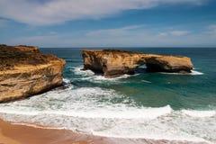 Grande strada dell'oceano Immagini Stock Libere da Diritti