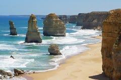 Grande strada dell'oceano, Australia Immagine Stock Libera da Diritti